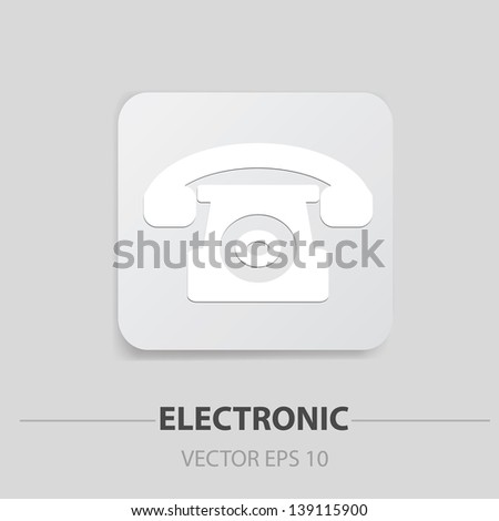 Telephone sign,vector