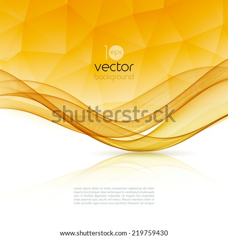 Template abstract background for design website - stock vector