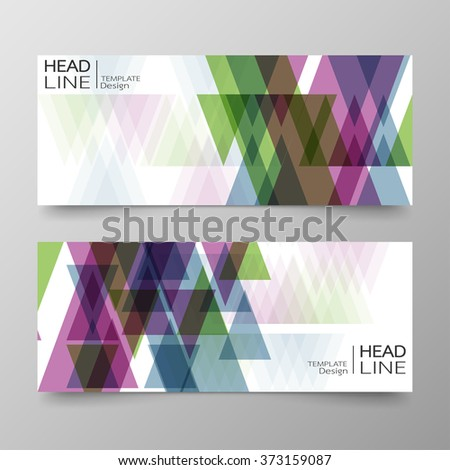 Template banners and text box infographics for design abstract background.