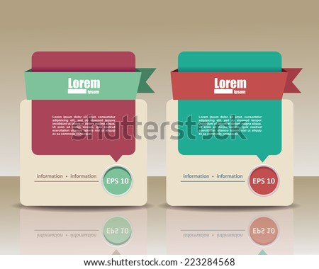 template banners for business - stock vector