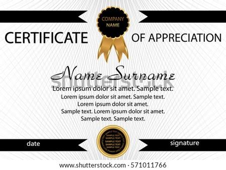 downloadable certificate of appreciation