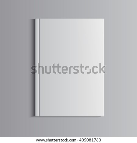 Template for advertising, branding and corporate identity. Catalog, folder,portfolio. Blank mockup for design. Vector white object. EPS 10 - stock vector