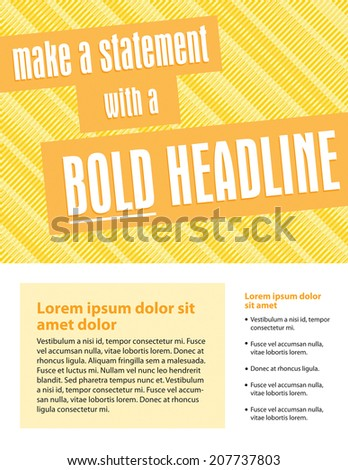 Sell Sheet Layout Stock Images RoyaltyFree Images  Vectors