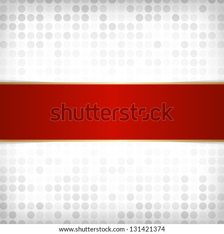 Template for card or invitation. Editable vector background - stock vector