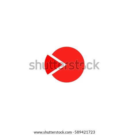 Template Cycle Diagram Color Symbol Icon Stock Vector 589421723