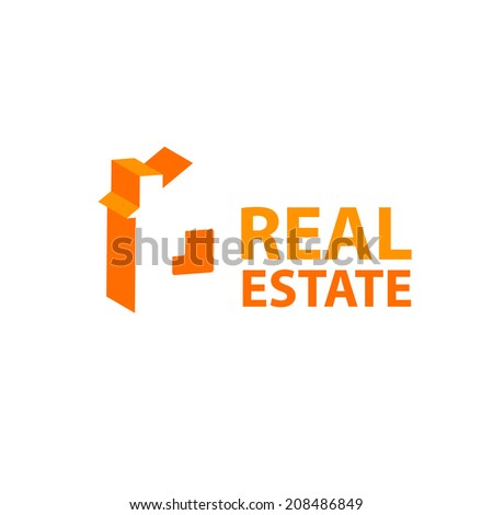 Template Sign Real Estate Sale Lease Stock Vector 208486849 ...