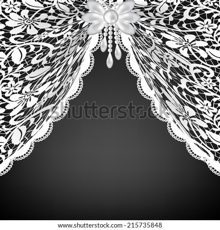 Lace Curtains Stock Images, Royalty-Free Images & Vectors ...