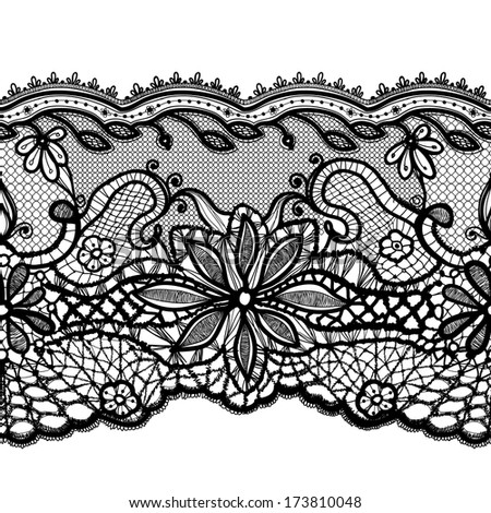 Template frame design for card. Lace Doily. Can be used for packaging, invitations, and template.  - stock vector