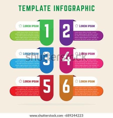 Simple infographic template