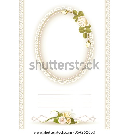 Lace Oval Stock Images Royalty Free Images Amp Vectors