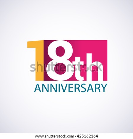 18th Anniversary Stock Images, - 24.5KB