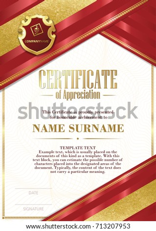 content for certificate of appreciation