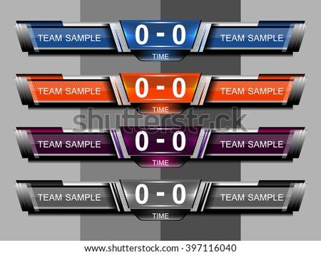 Scoreboard Images RoyaltyFree Images Vectors – Scoreboard Sample
