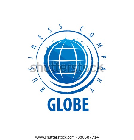Template vector abstract Earth logo. Globe sign - stock vector
