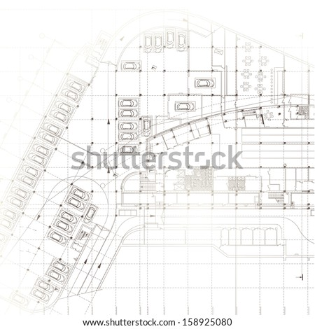 Architectural background vector stock vector 503352358 for Architectural design elements