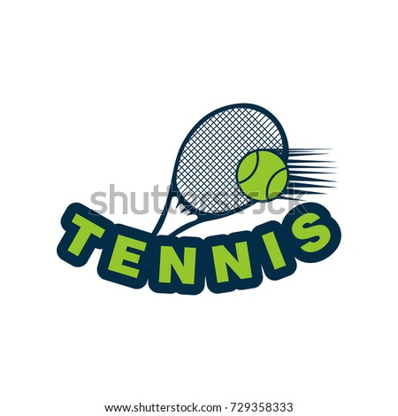 tennis sport badge label logo design stock vector hd royalty free rh shutterstock com tennis logo design coreldraw tennis logo design coreldraw
