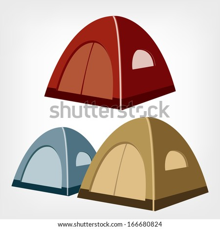 Tent Logo Vector images
