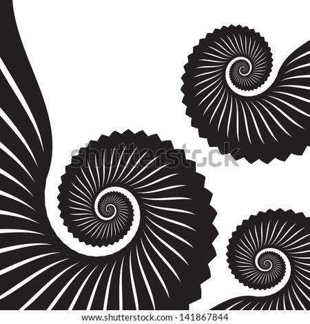 Tentacle Pattern - stock vector