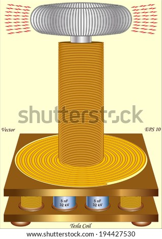 Tesla coil stock images royalty free images vectors shutterstock tesla coil sciox Choice Image