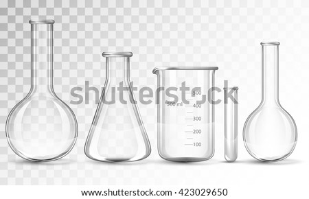 Test-tubes - stock vector