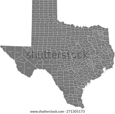 Texas Map Stock Images RoyaltyFree Images Vectors Shutterstock - Texas map com