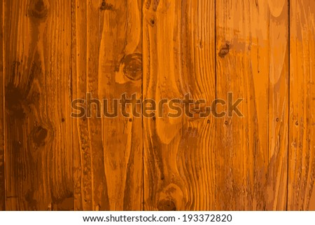 Texture and pattern of wooden plank.tracing vector - stock vector