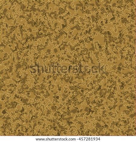 Texture camouflage khaki background - stock vector