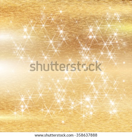 Texture Gold Christmas Background