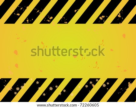 Texture hazard warning background