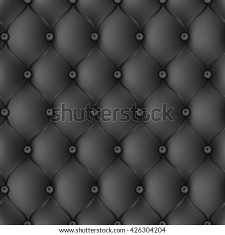 texture of a leather upholstery of furniture - stock vector