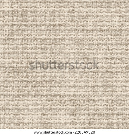 Texture of canvas. Vector background. - stock vector