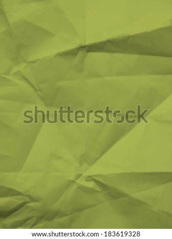 Texture of crumpled paper - colorful vector background - stock vector