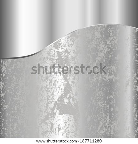 texture of metal background - stock vector