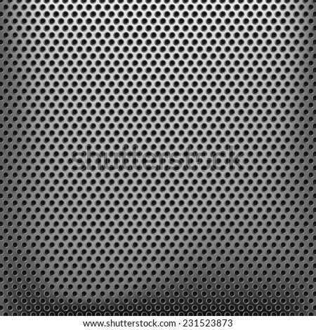 Texture of metallic mesh