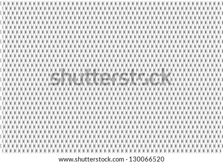 texture scales fish silver background - stock vector