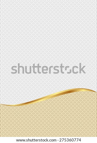 textured background divided into two - stock vector