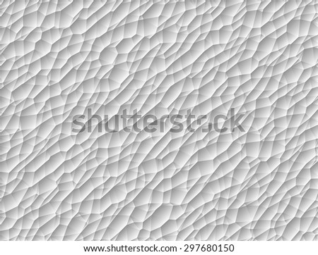 Textured Poly Mesh Vector Background - stock vector