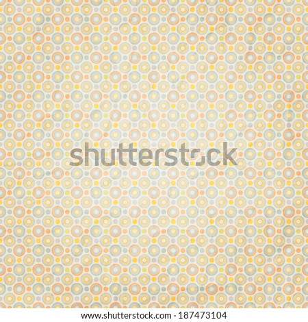 textured surface with seamless circles ornament - stock vector