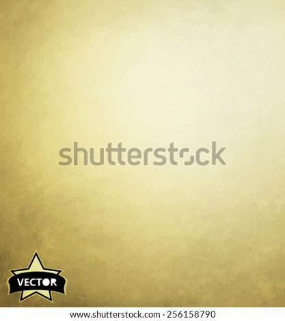 Textured vintage paper vector background, with grunge  - stock vector