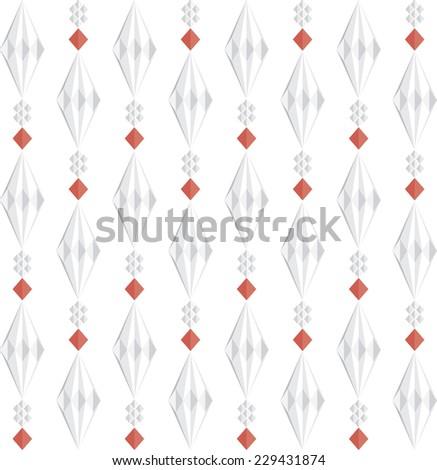 Thai Flower Background - stock vector