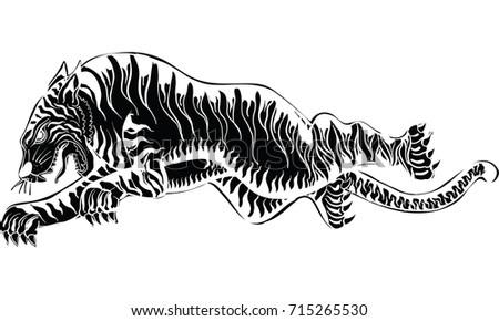 Traditional Tattoo Line Drawing : Cthulhu tattoo by echaltraw on deviantart