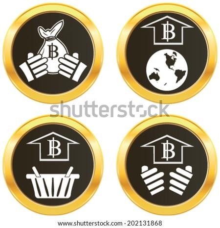 Thai Baht Symbol C E S C