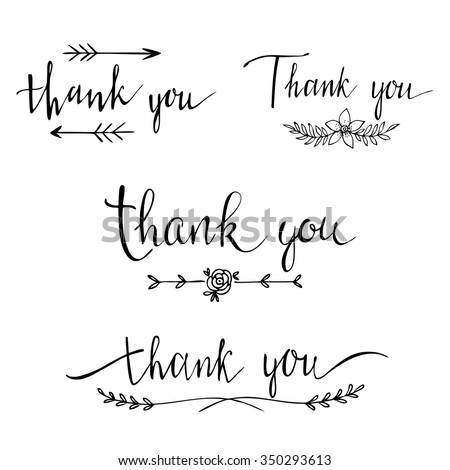 Wedding Thank You Card Stock Images Royalty Free Images