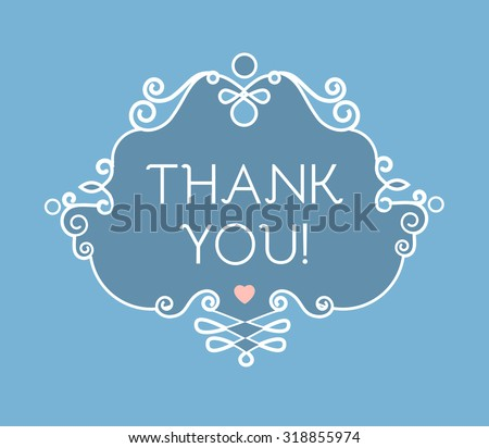 Thank You Very Much Stock Vectors Vector Clip Art