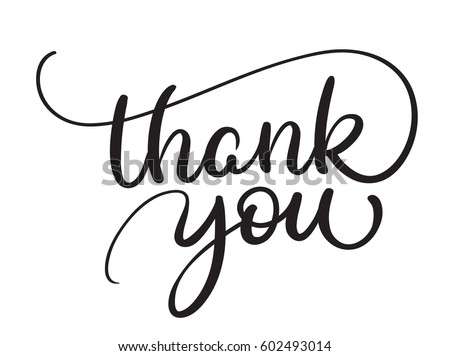Thank You Note Stock Images Royalty Free Images Vectors