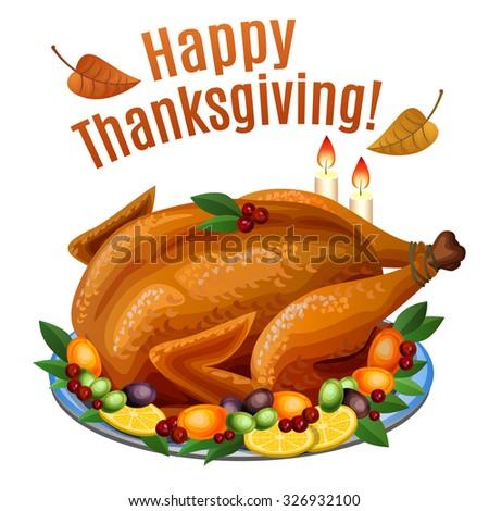 Thanksgiving turkey dinner drawing - photo#15