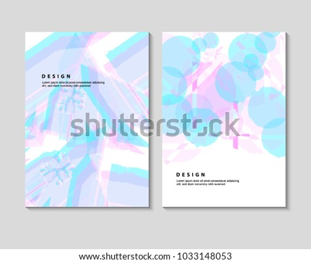 The abstract colorful background. It can be used for posters, card, flyers, brochures, magazines and any kind of cover. EPS 10