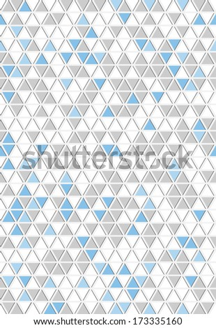 The abstract seamless triangle background / The abstract triangle background / The abstract background