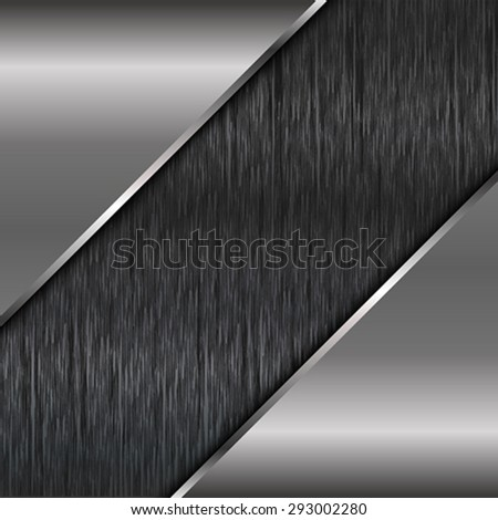 The abstract square metallic background