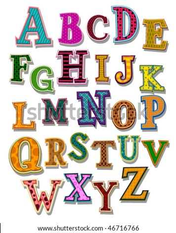 The Alphabet - Vector